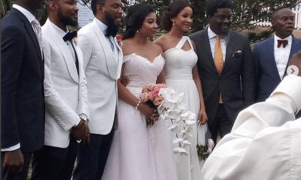 First Photos From Linda Ejiofor Ibrahim Suleiman's White Wedding
