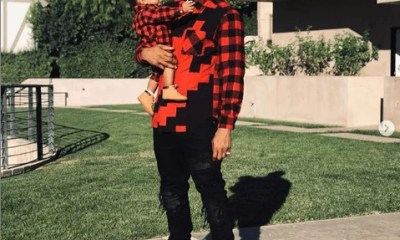 Sweetloaded 5dad673269d39 Trey Songz shares adorable new photos with his son as he turns 6 months old gist  Treyz share adorable photos
