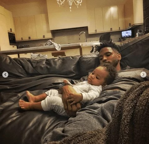 Sweetloaded 5dad67bf951cf Trey Songz shares adorable new photos with his son as he turns 6 months old gist  Treyz share adorable photos