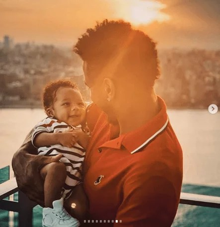 Sweetloaded 5dad6bbce0736 Trey Songz shares adorable new photos with his son as he turns 6 months old gist  Treyz share adorable photos