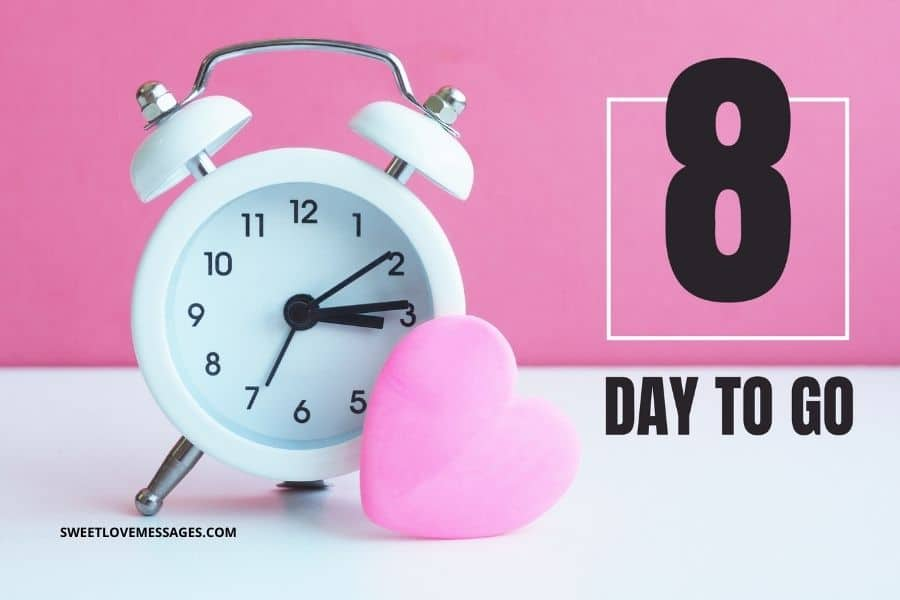 8 Days Left For My Birthday Quotes Sweet Love Messages