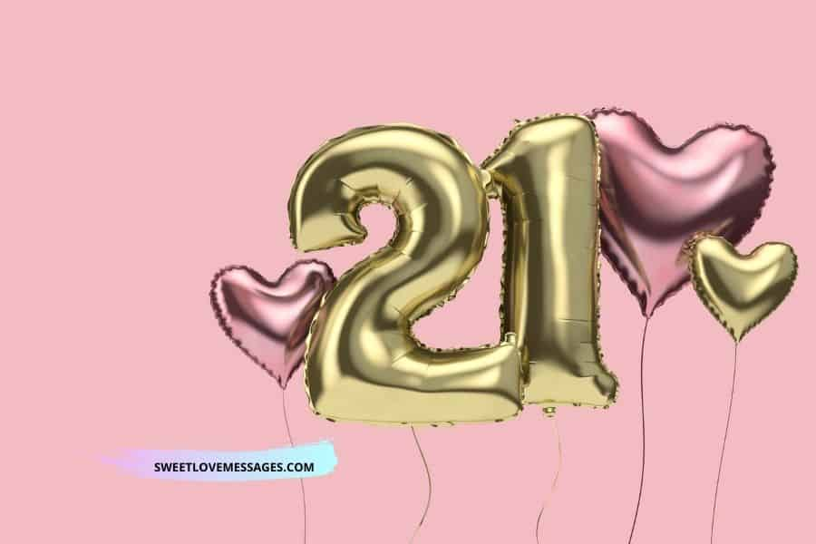 Happy 21st Birthday Wishes Messages And Quotes To My Niece Sweet Love Messages