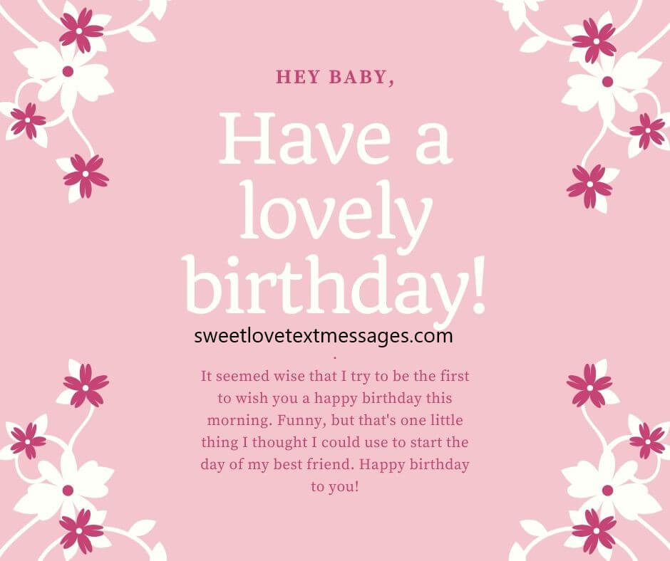 Happy Birthday Paragraphs For Best Friend Copy And Paste Love Text Messages