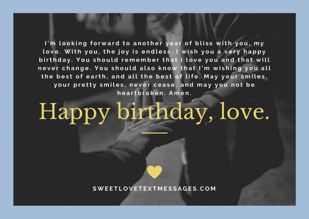 Happy Birthday Paragraphs For Girlfriend Copy And Paste Love Text Messages