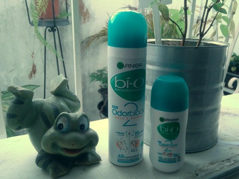 Desodorante Bi-O Odor Block, da Garnier