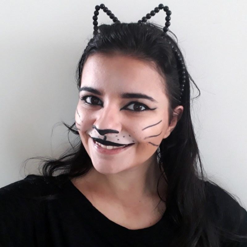 Maquiagens facinhas para o carnaval: Gatinha
