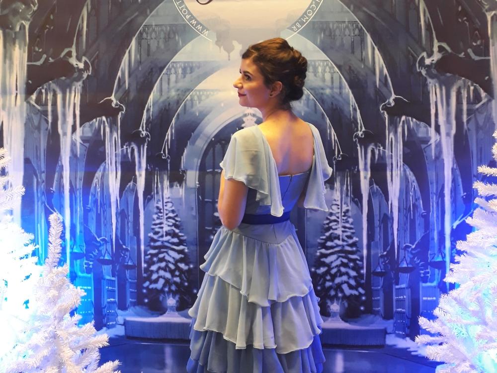 LookBook: Make it blue! | Hogsmeeting Ano 4: O Baile de Inverno