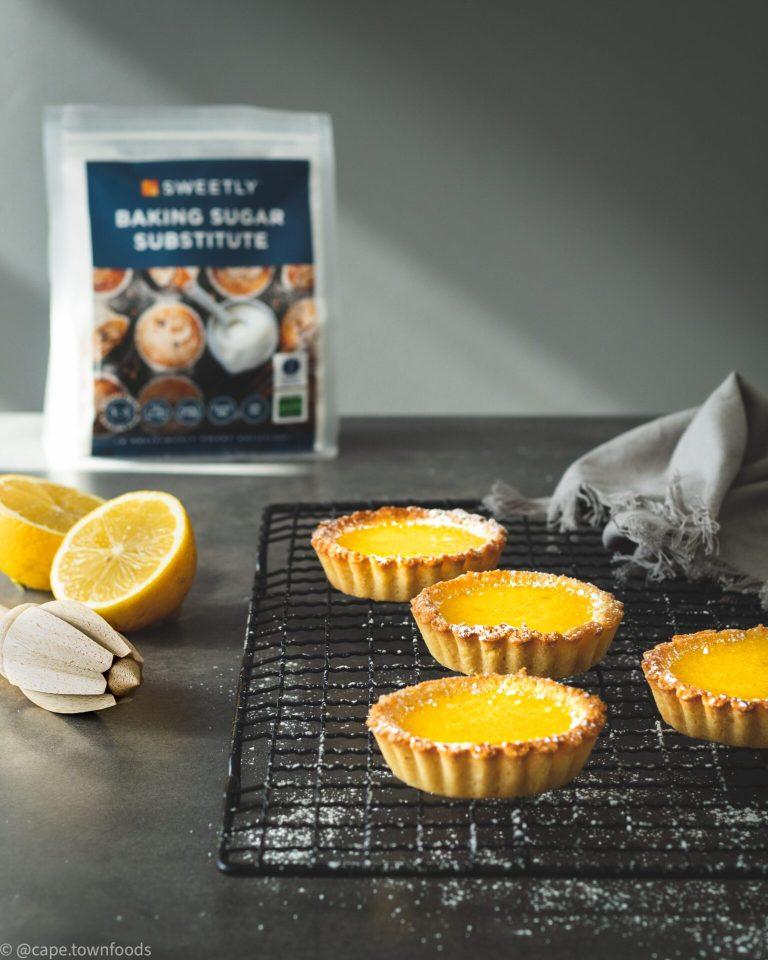 SWEETLY Lemon Tarts – Gluten Free, Dairy Free and Sugar Free