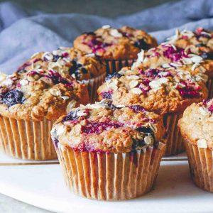 SWEETLY Vegan Raspberry Muffins