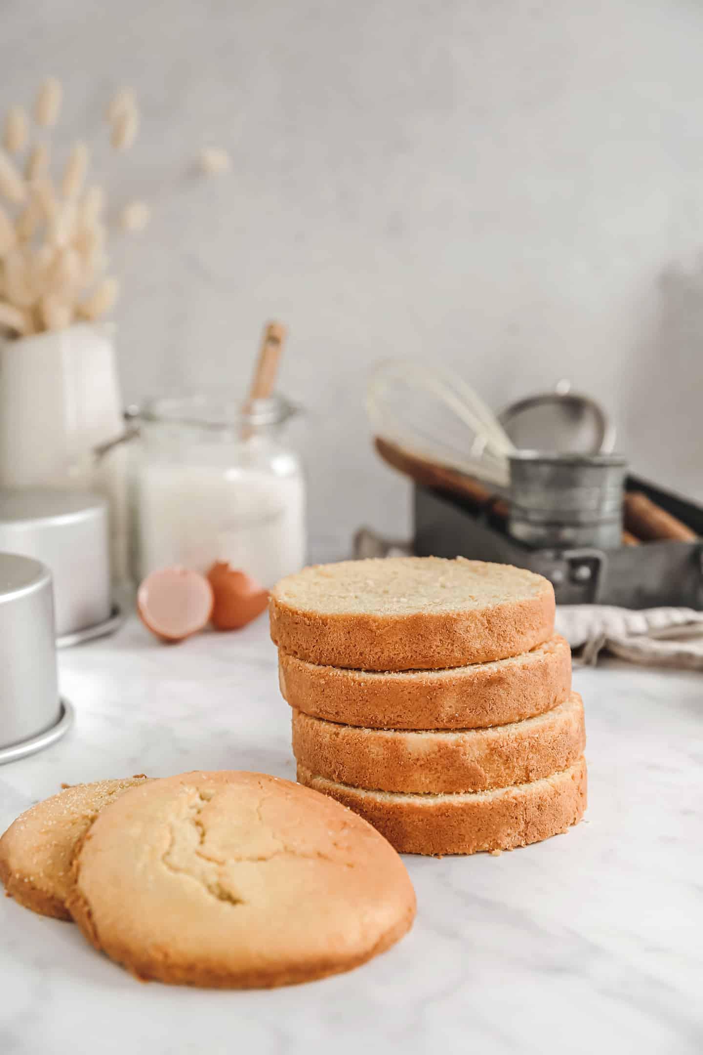 La recette facile du gâteau éponge