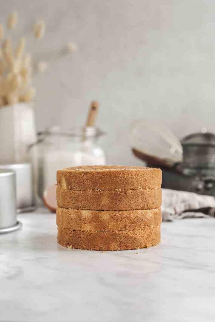 Le sponge cake recette pour layer cake