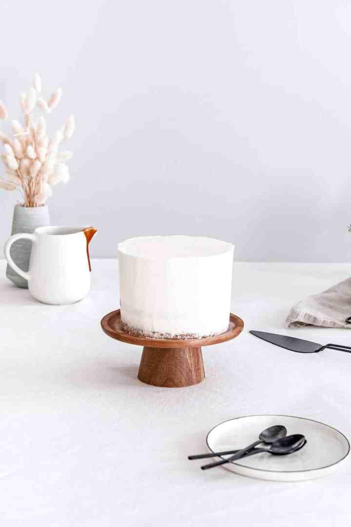 Layer cake caramel et SMBC