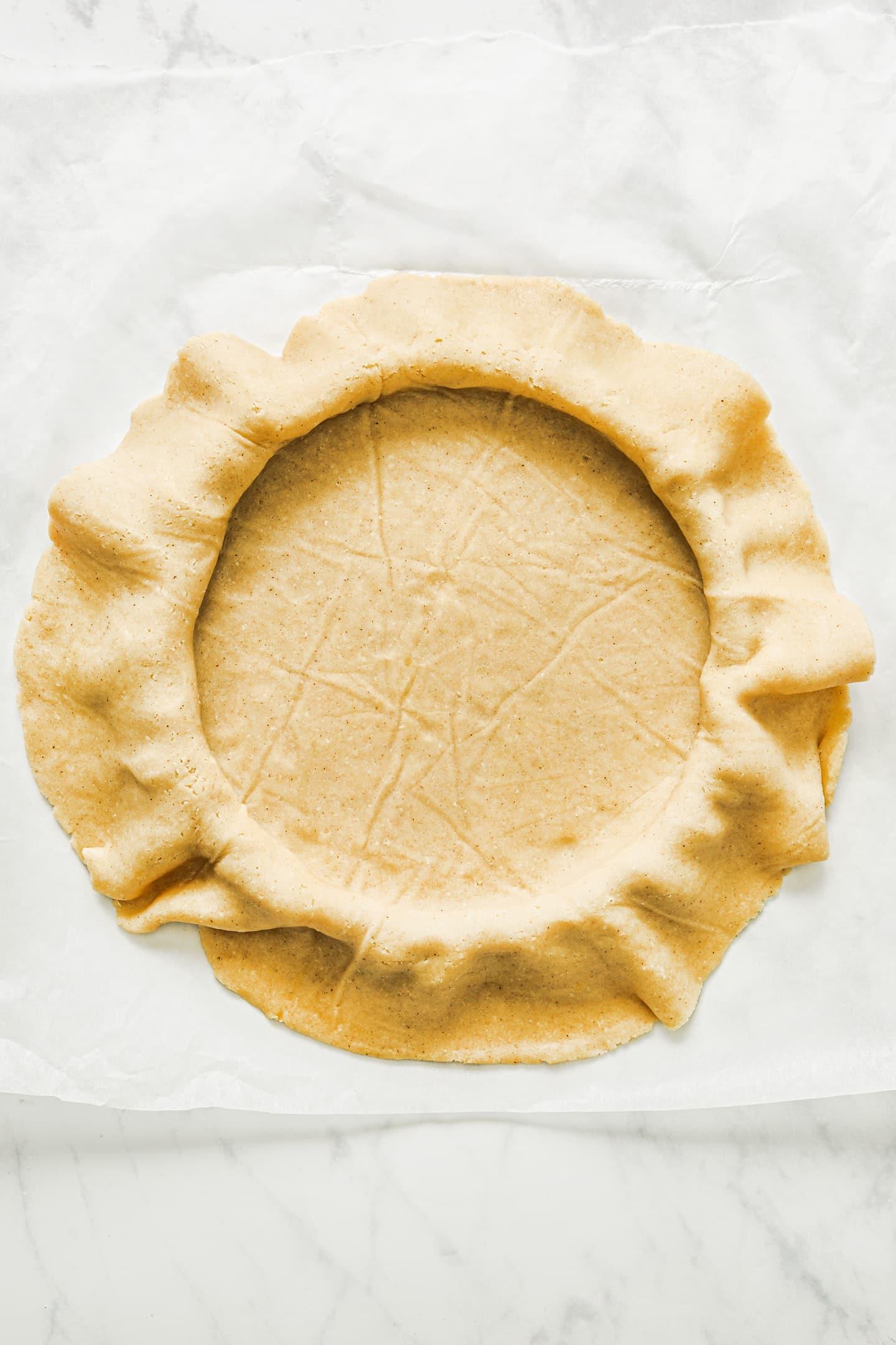 Comment foncer une pâte à tarte