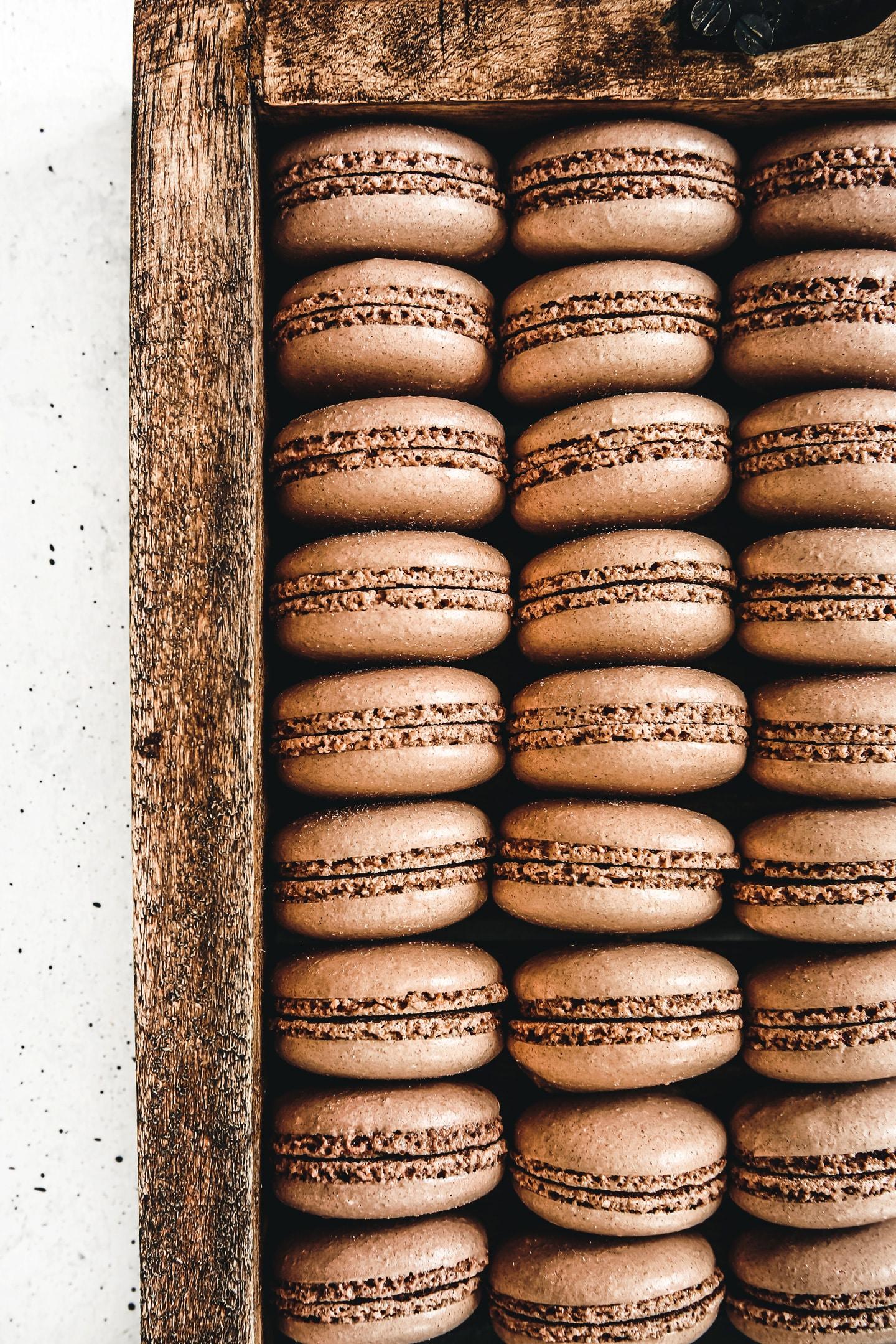 Recette facile macaron chocolat