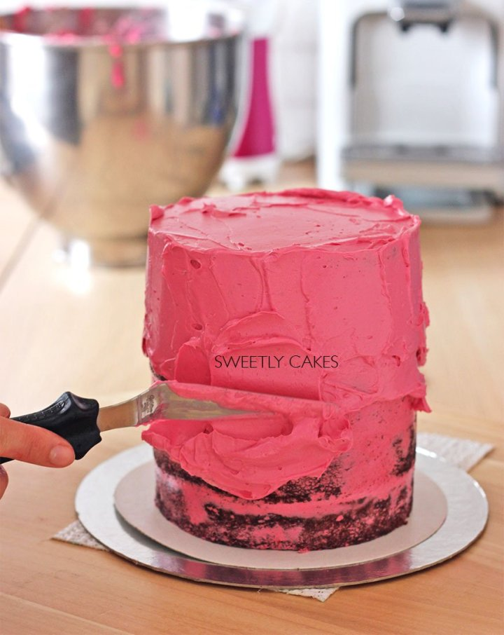 Lissage du layer cake