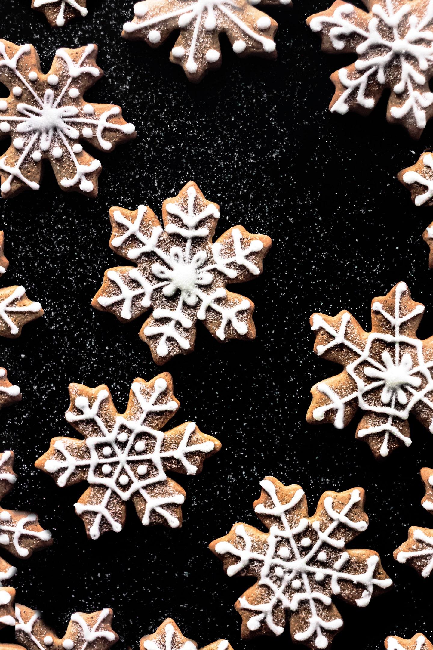 Biscuits glacés aux épices
