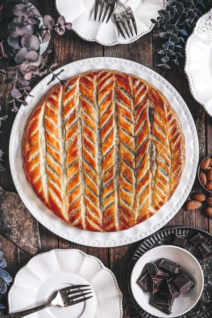 Homemade easy galette des rois