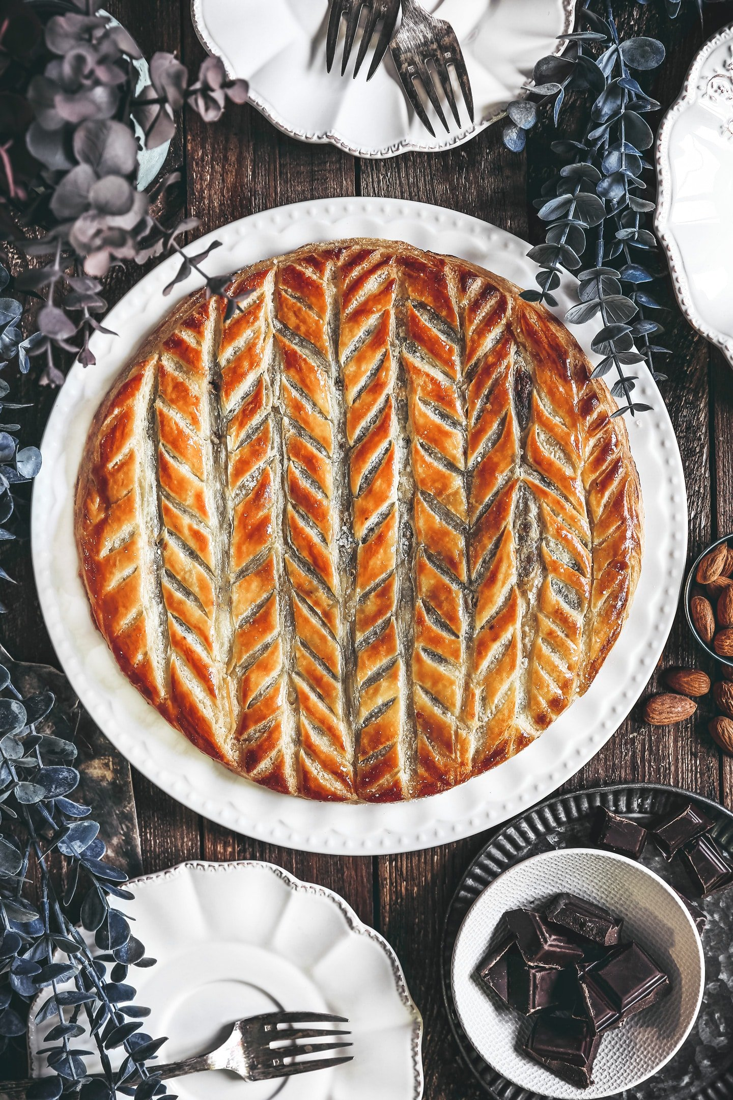 The french galette des rois