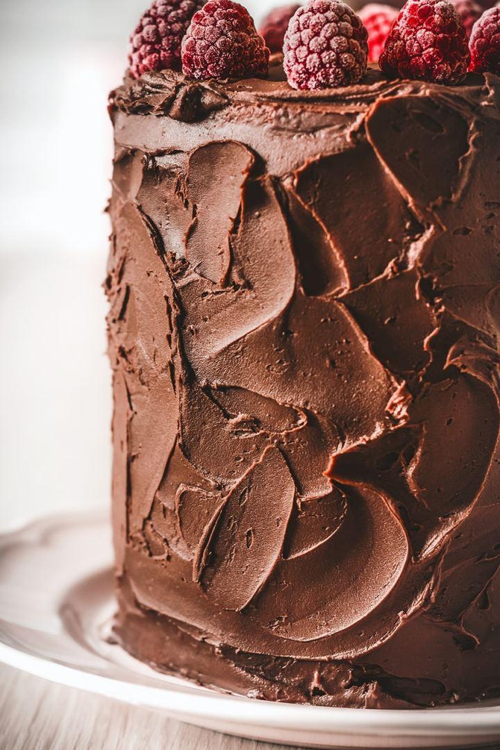Ganache simple au chocolat noir