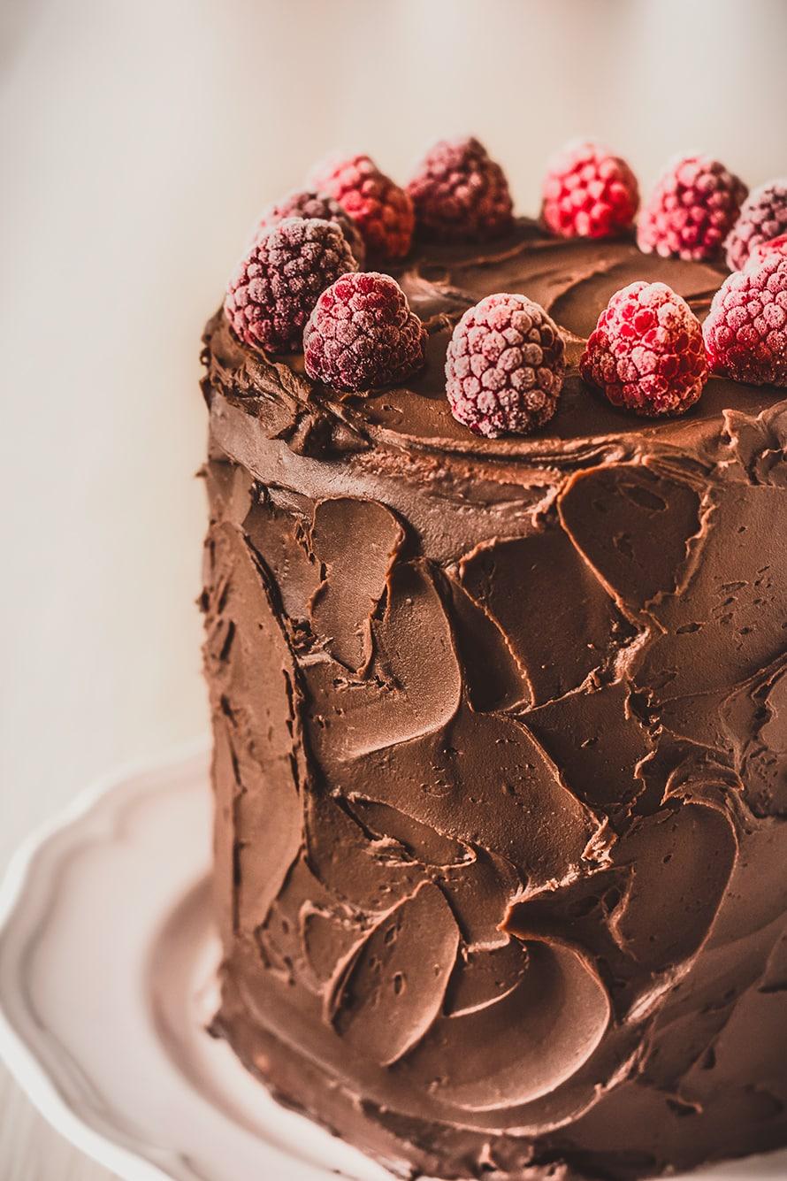 Ganache facile au chocolat