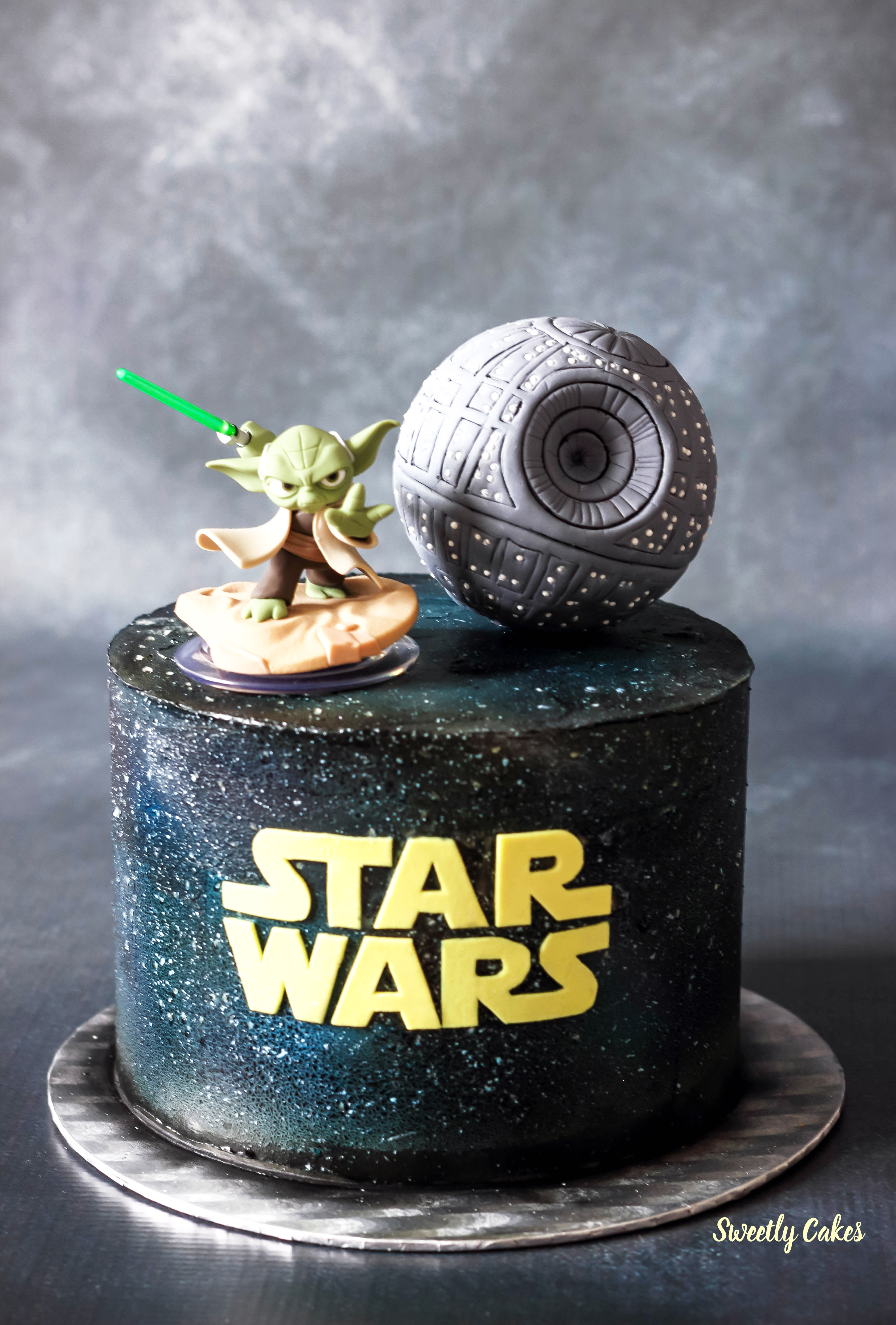 Gateau piece montee star wars