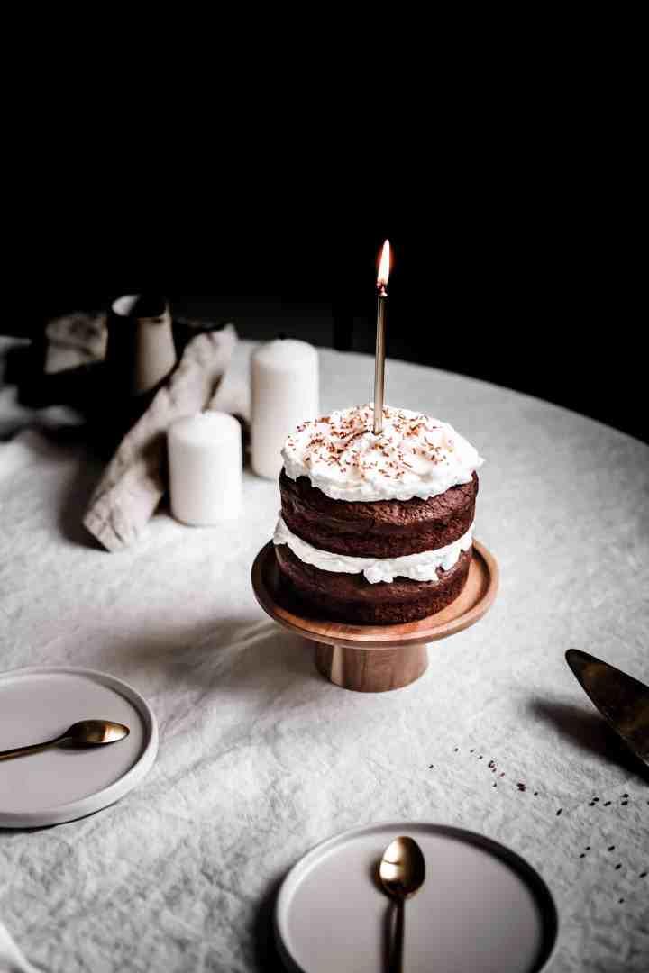 Layer cake chocolat et mascarpone