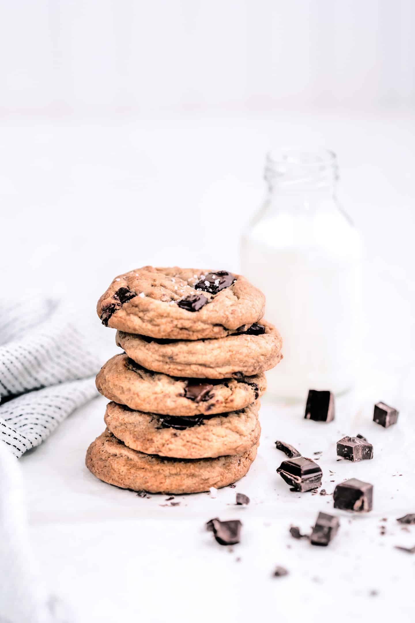 Chocolate chip cookies la recette