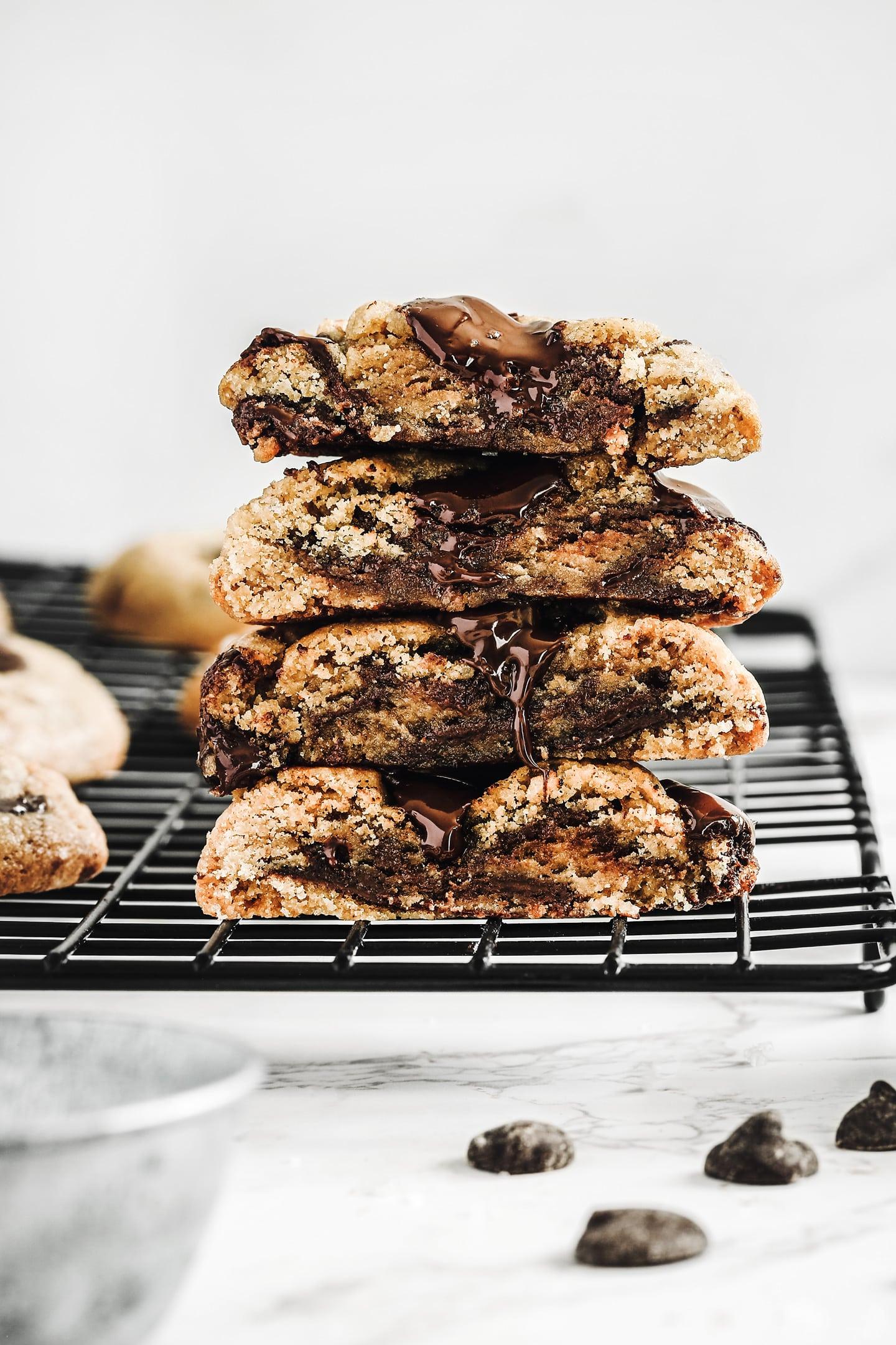 Recette facile des cookies aux pépites de chocolat