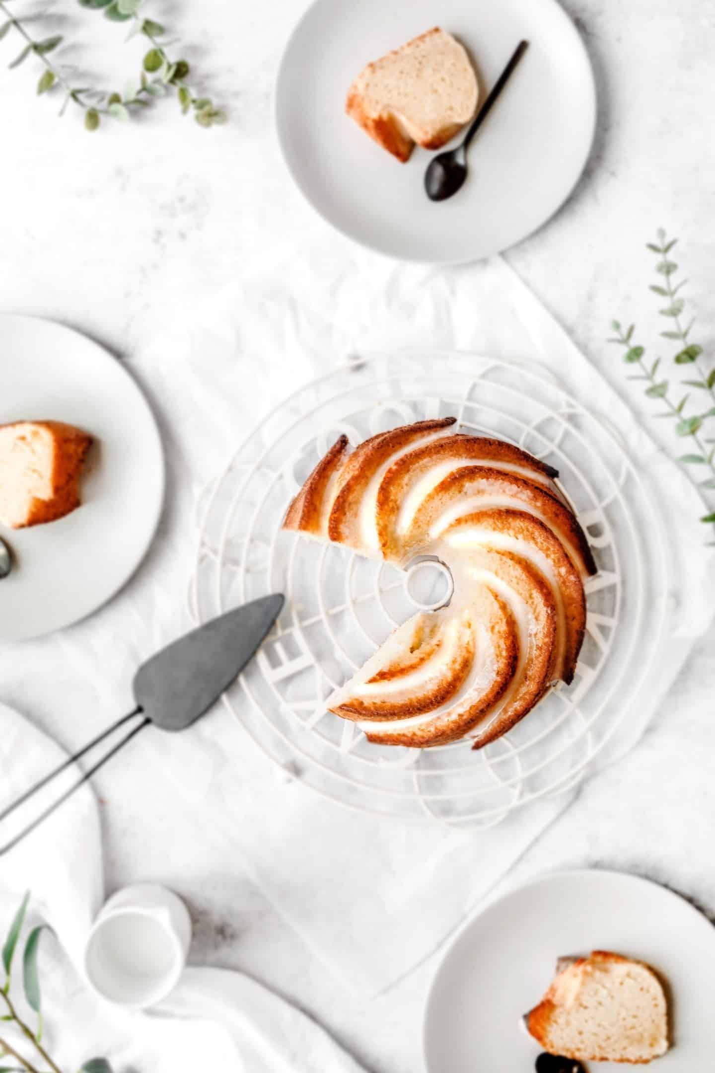 Recette du bundt cake au citron