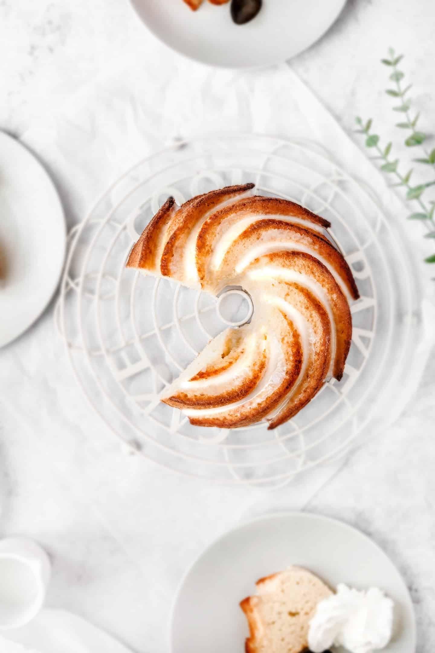 Recette du bundt cake facile au citron