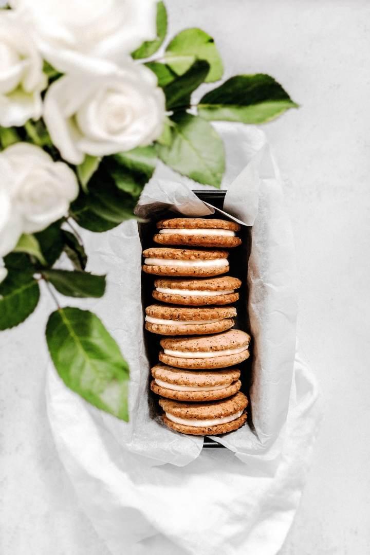 Recette de sablés fourrés au chocolat blanc