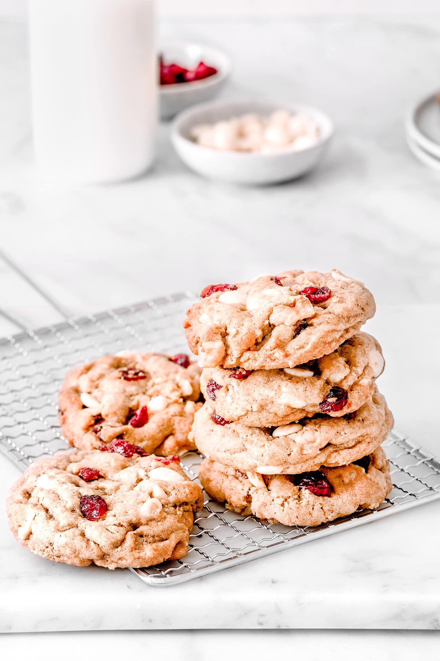Soft cranberry cookies recipe