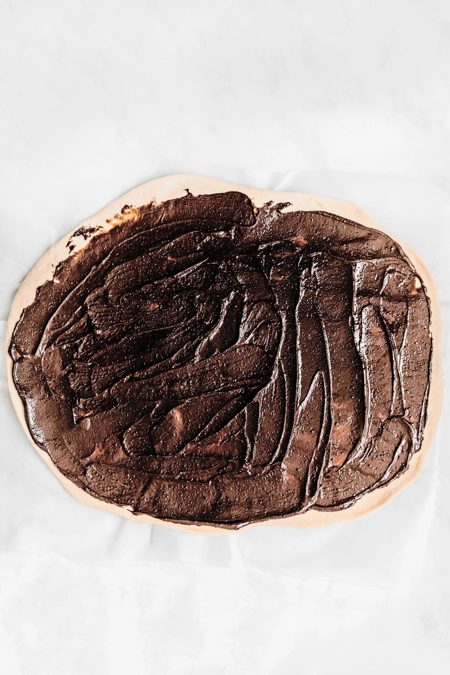 Brioche garnie au chocolat