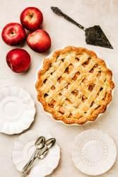 Homemade appel pie recipe