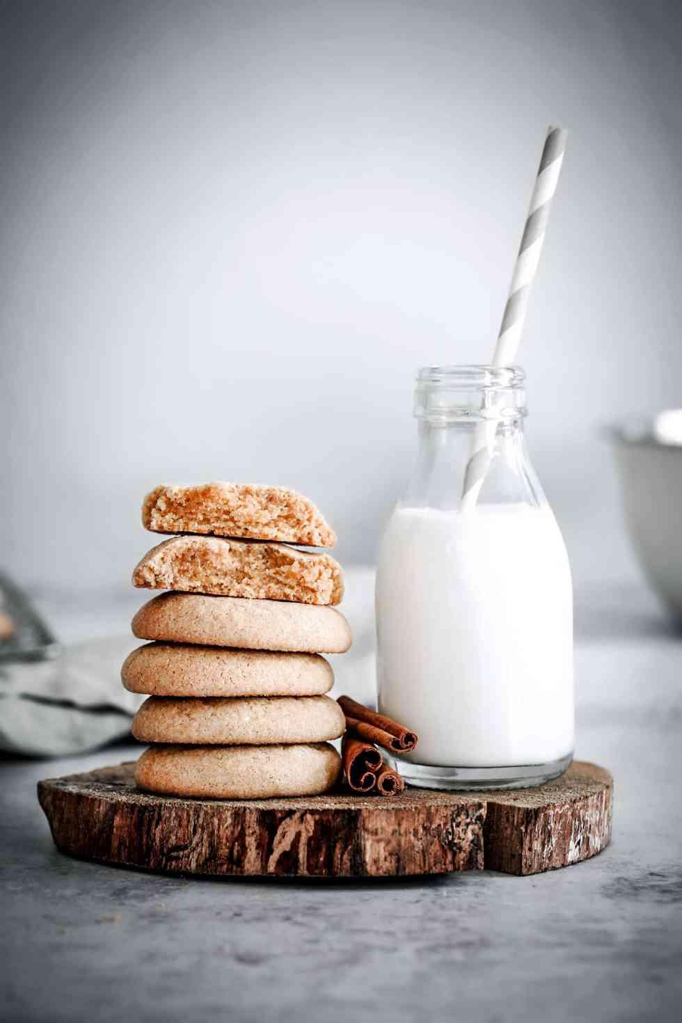 Snickerdoodle cookies à la cannelle