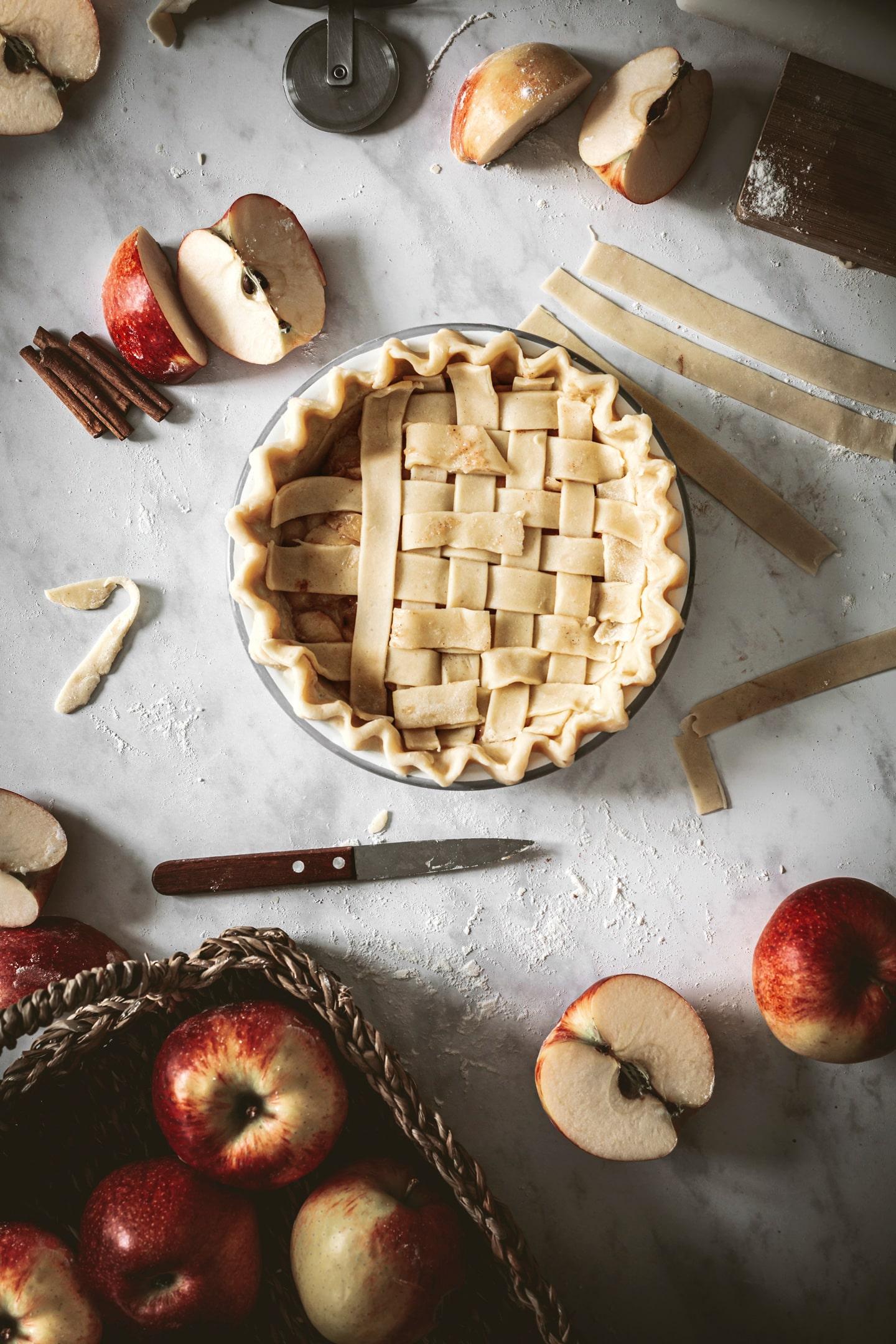 Comment décorer l'Apple pie