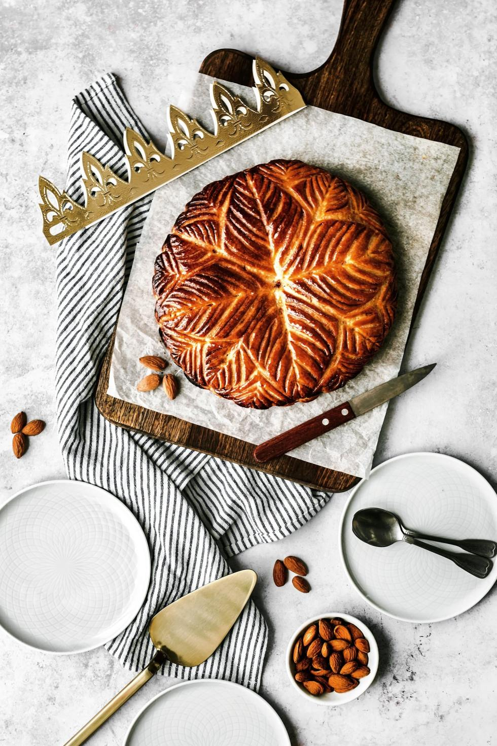 Galette des rois French king cake