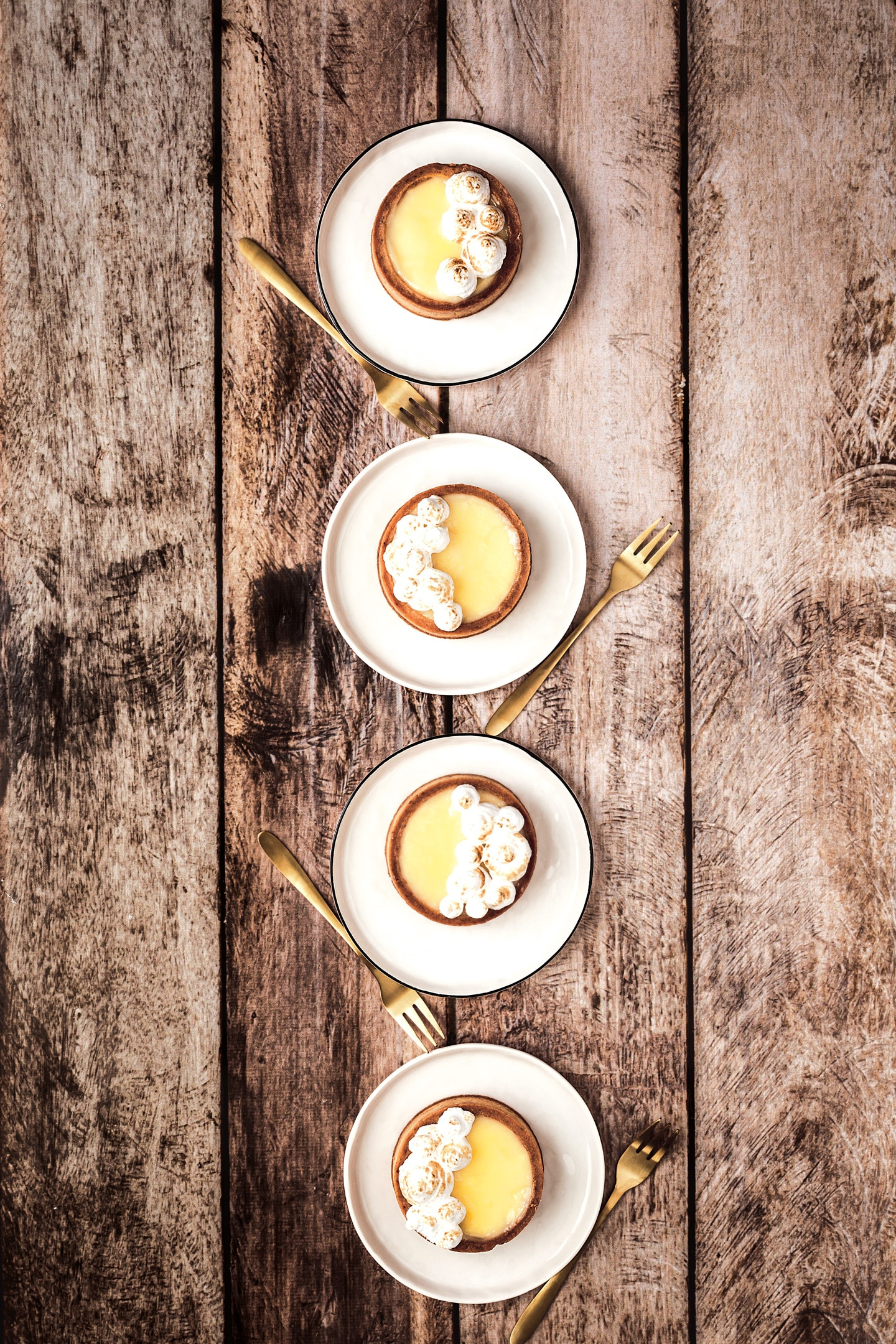Recette des tartelettes citron meringuées
