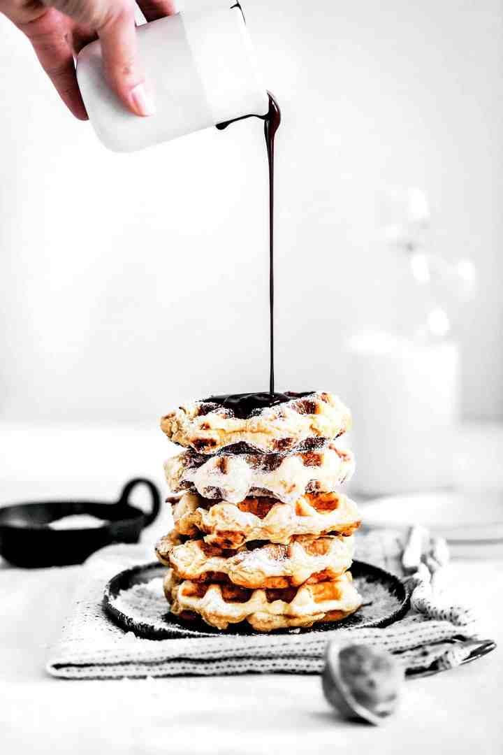 Belgian waffles perfect recipe