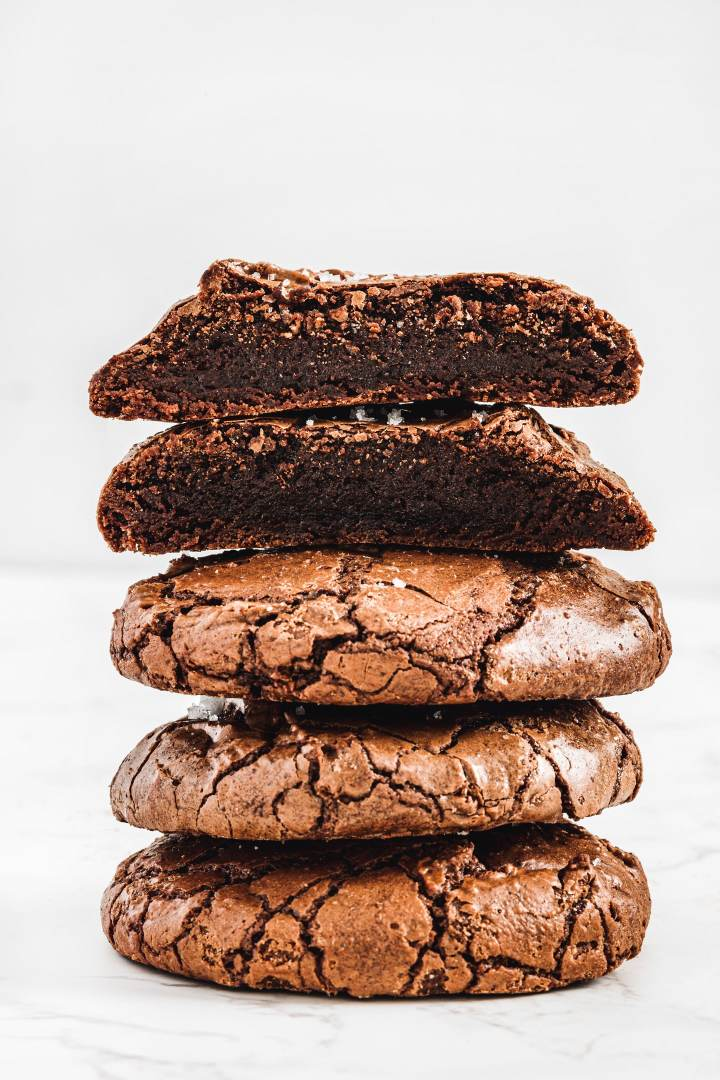 Recette cookies brownies fondants