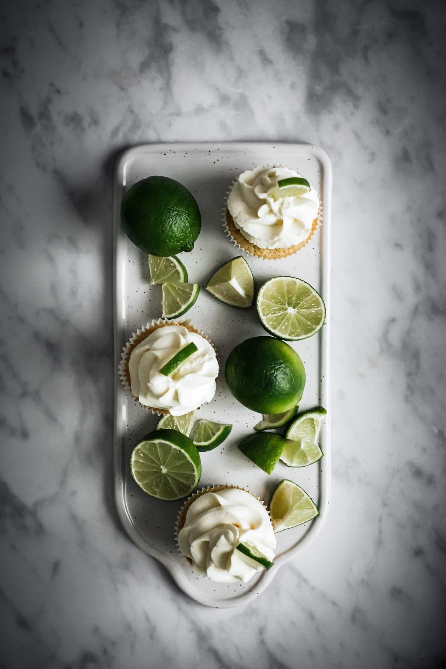 Cupcakes citron et lemon curd