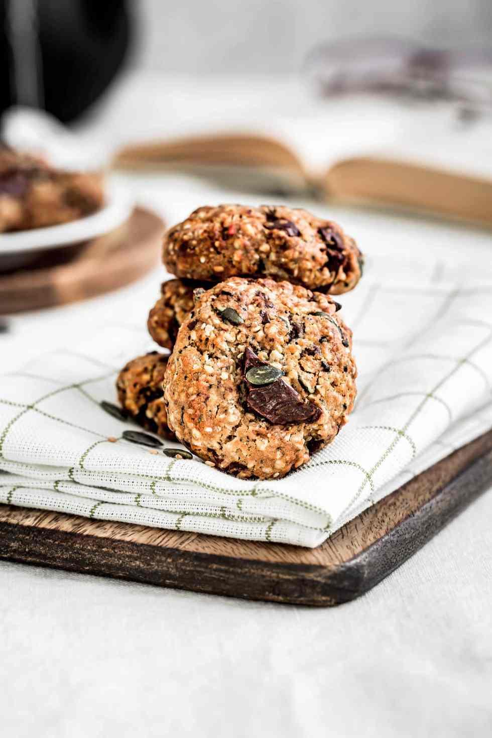 Cookies aux graines healthy