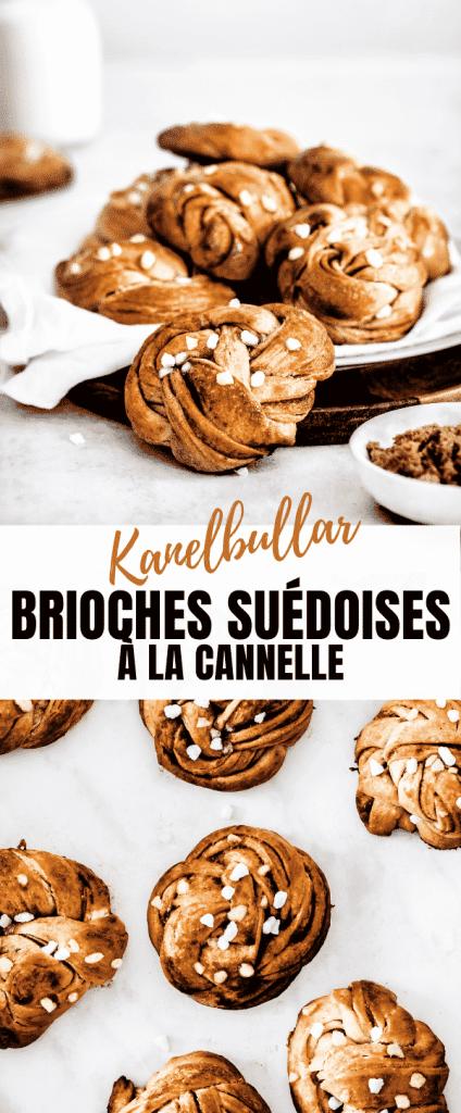 Kanelbullar petits pains briochés Suédois à la cannelle