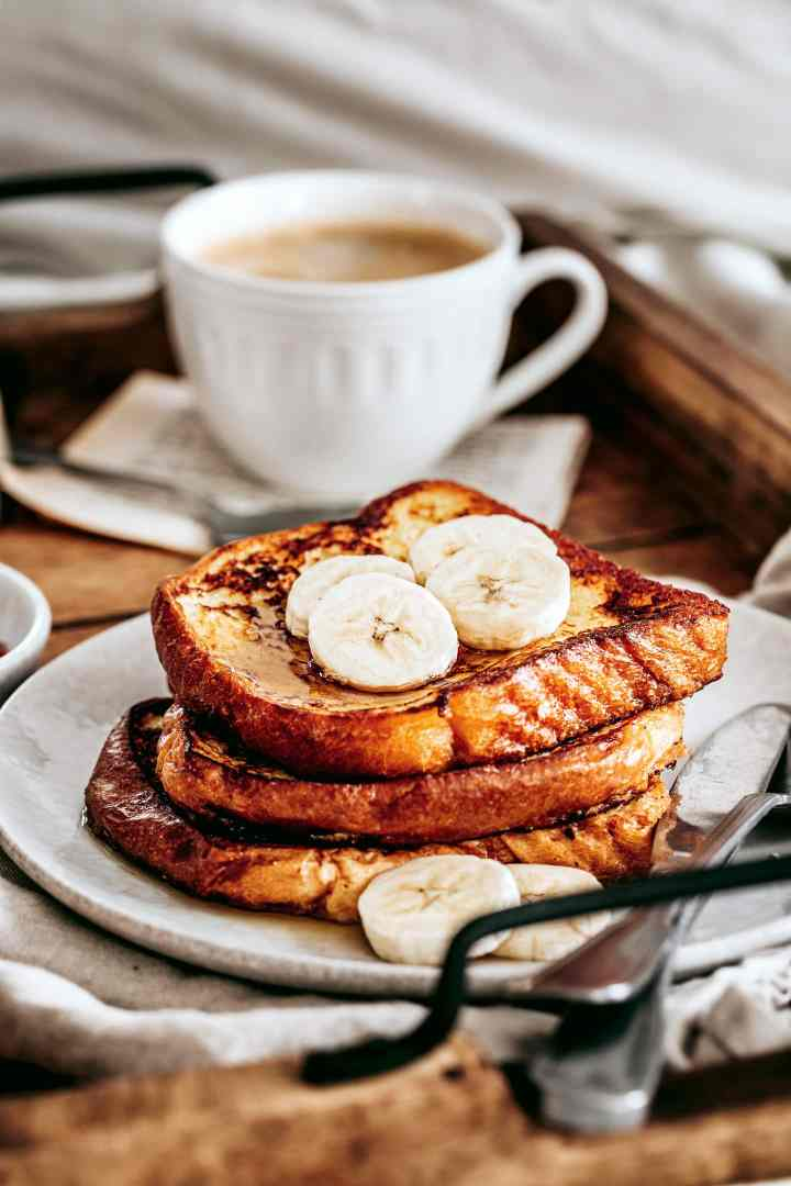 French toast for the breakfast