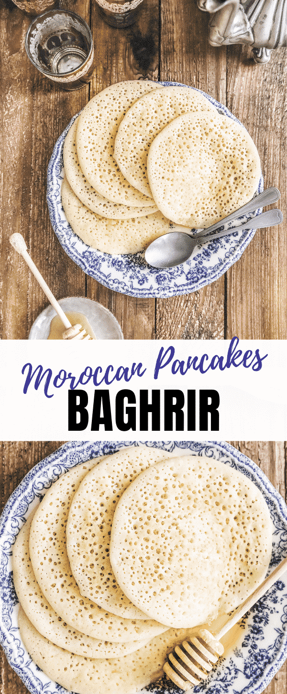 Moroccan pancakes recipe
