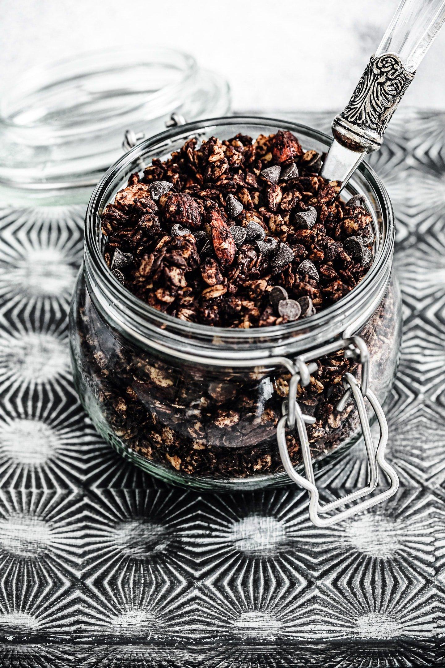 Granola chocolat maison
