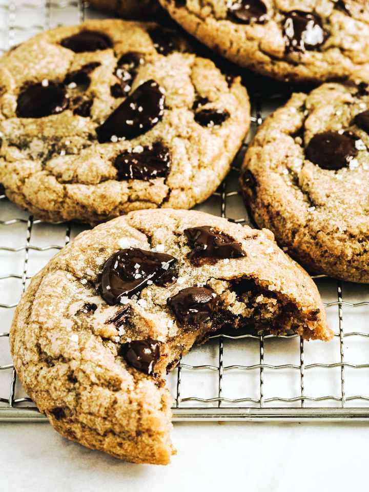 Cookies vegan aux pépites de chocolat