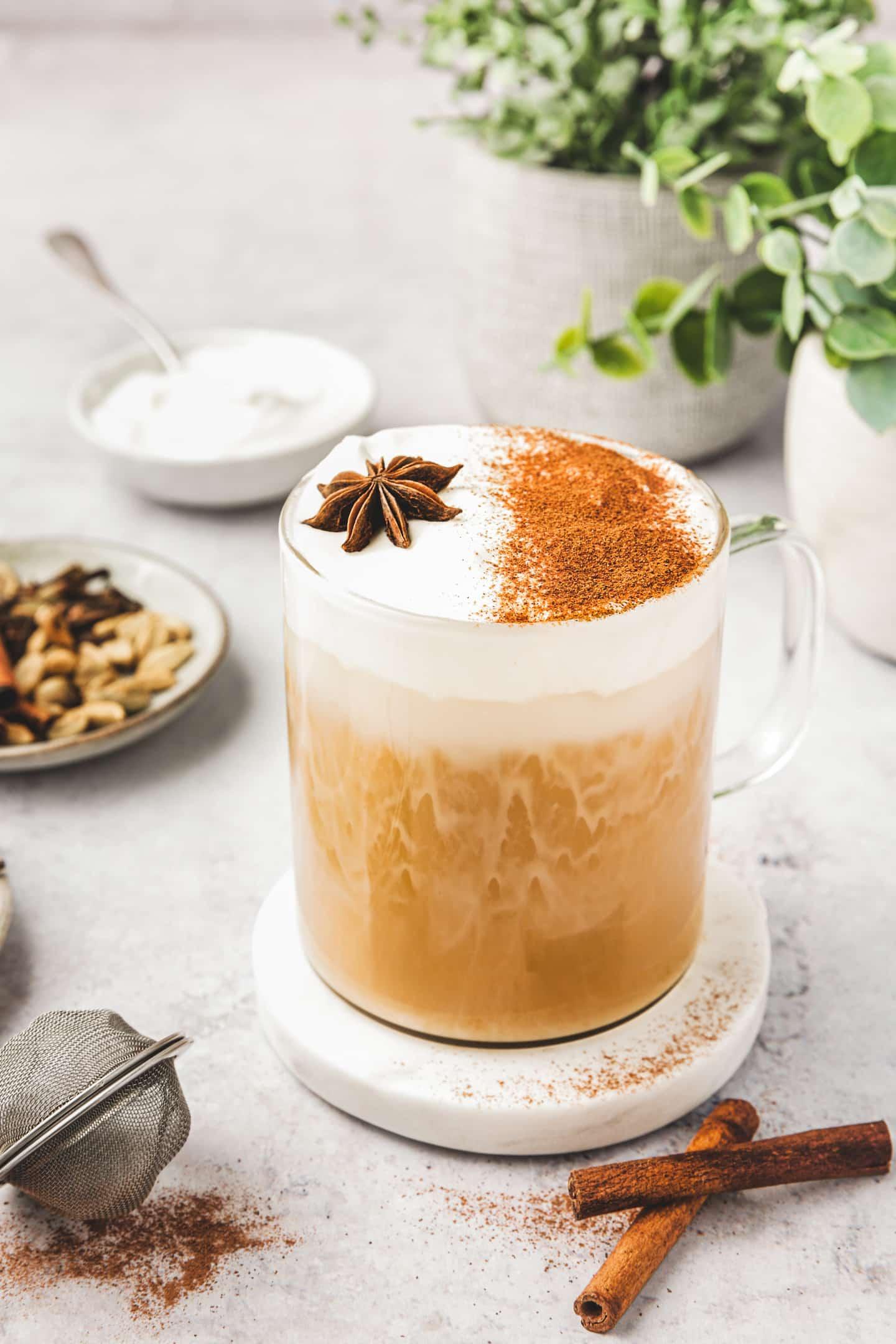 Recette du chai latte maison