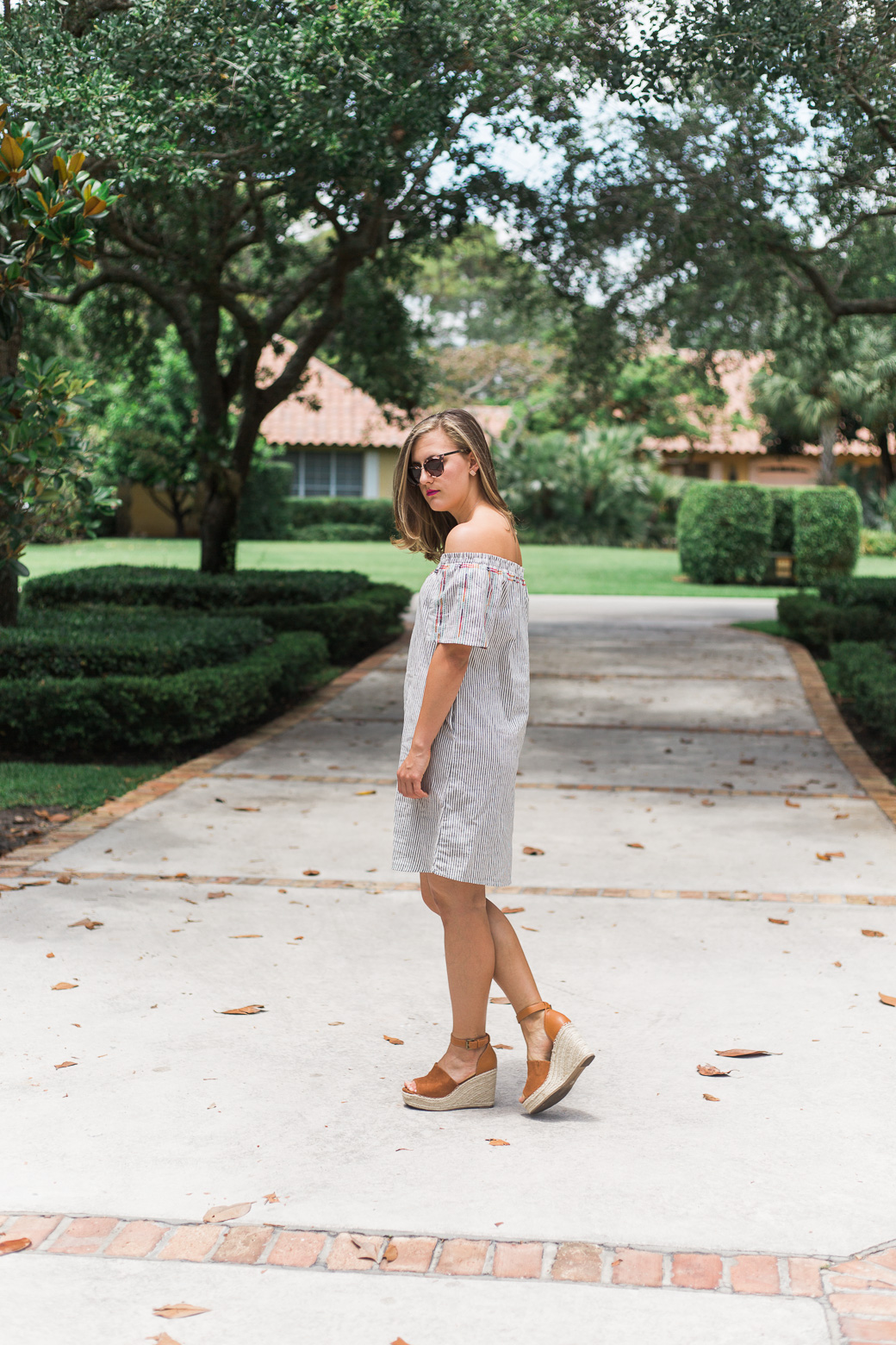 My Reflection on Junior year of college part two, a fashion post with an embroidered OTS dress from target on sweetlysally.com
