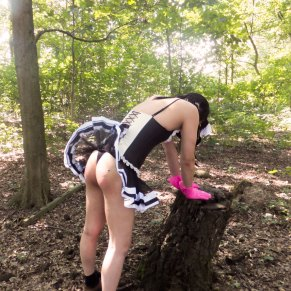 Sissy in the wood